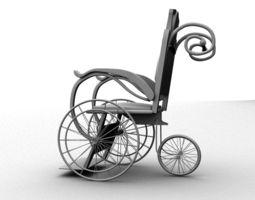 Wheel Chair 3D
