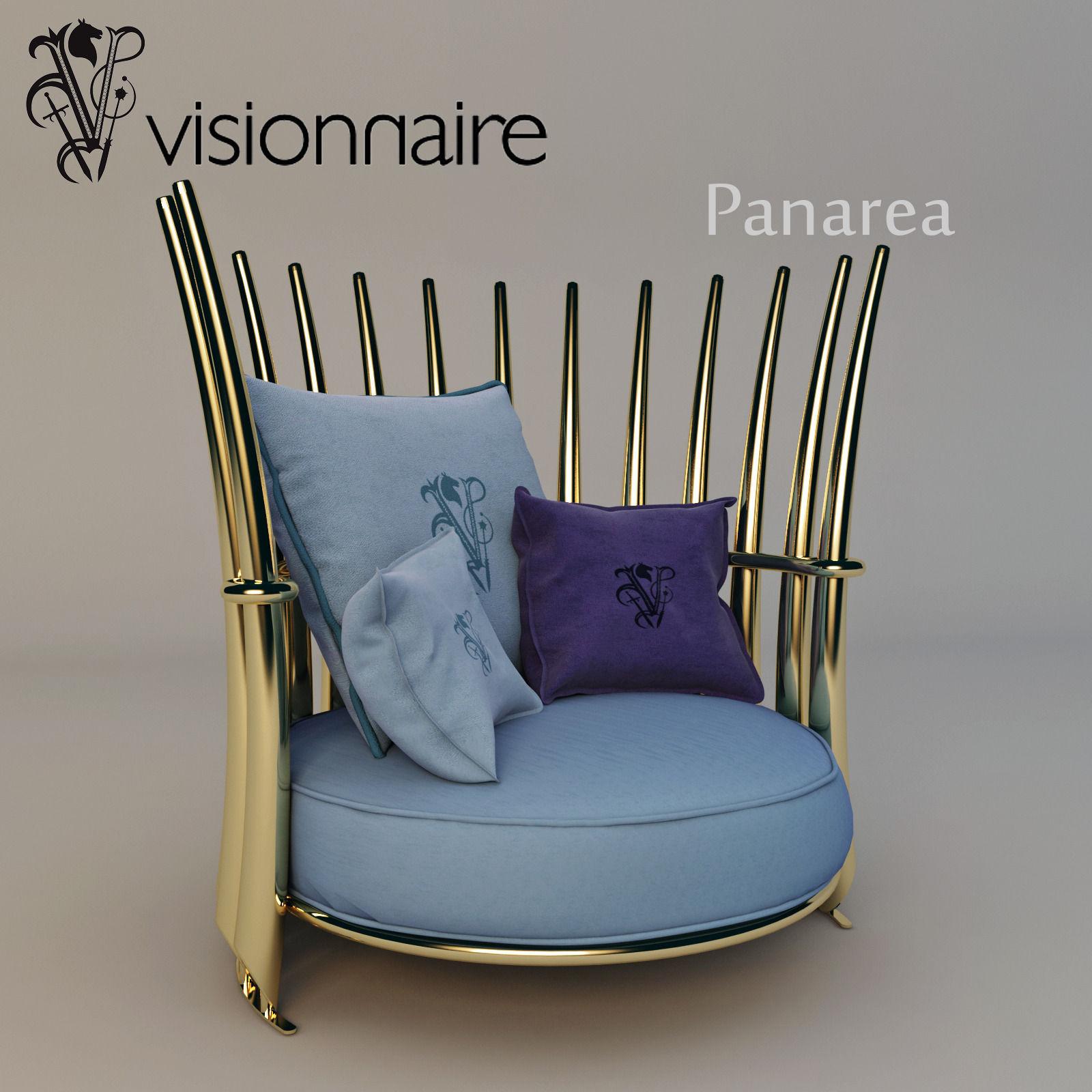 Visionnaire Panarea armchair