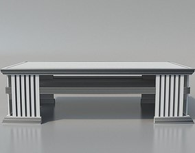 3D Elegant Coffee Table