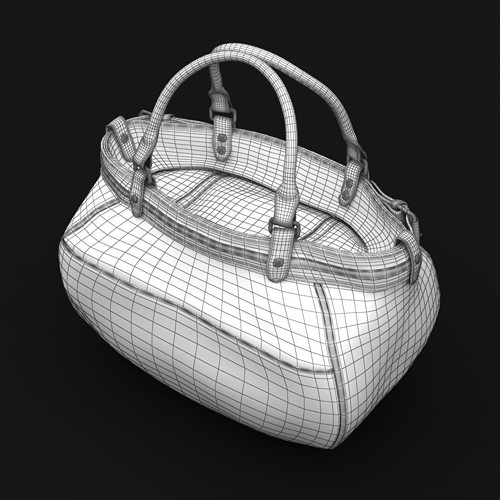 8233874629 ladies hand bag 03 3d model max obj mtl 3ds fbx c4d lwo lw lws 12