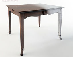 Francesco Pasi Deco Table 3D