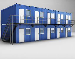 3D Container shipping House double floor
