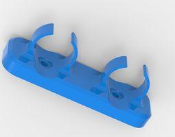Holder for tubes 3D