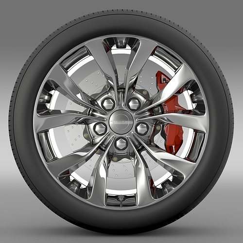 chrysler 300 limited 2015 wheel 3d model max obj mtl 3ds fbx c4d lwo lw lws 1
