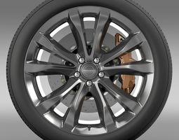3d model chrysler 300c platinum 2015 wheel