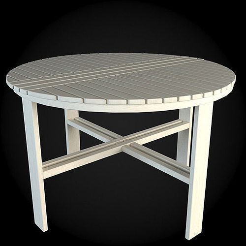 Garden furniture 025 3d model max obj fbx for Outdoor furniture 3d max
