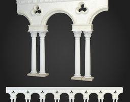 Arcade arc 3D model