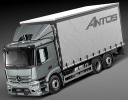 Mercedes Antos Box 2016 3D Model