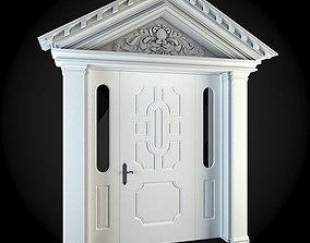 apartment-building 3D model Door