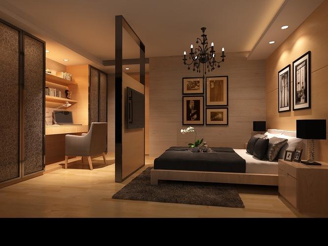 3d model bedroom bedroom or hotel room photoreal cgtrader
