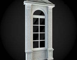 Window residential-building 3D