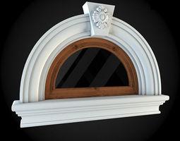 Window 3D model residential-building