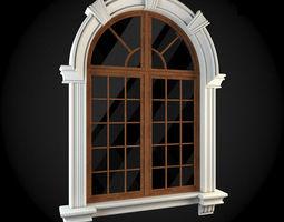 3D model residential-building Window
