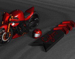3D model motor sport
