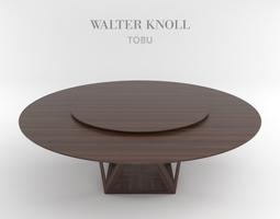 Dining table from Walter Knoll Tobu 3D