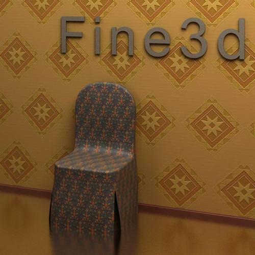 side chair 09-011 3d model max obj 3ds 1