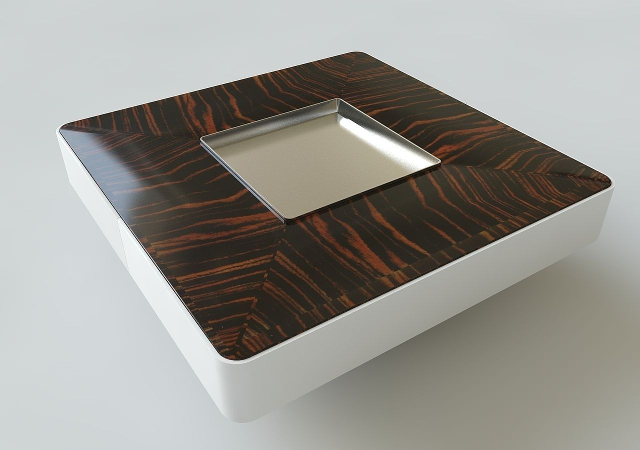 ... Modern Cafe Table 3d Model 3ds C4d 2 ...