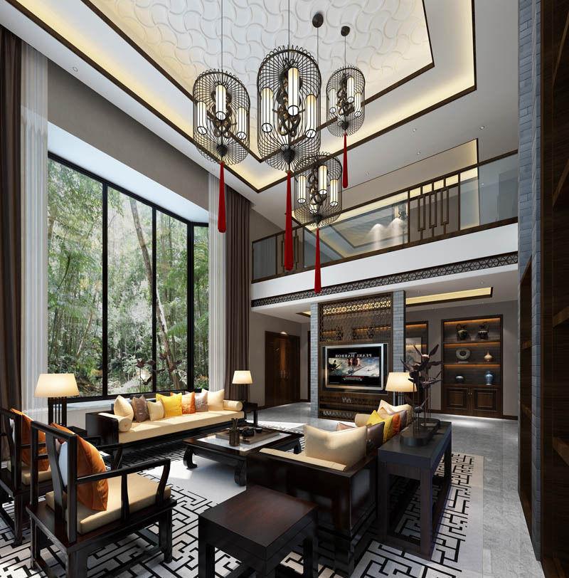 Realistic living room design 056 3d model max for Realistic living room ideas