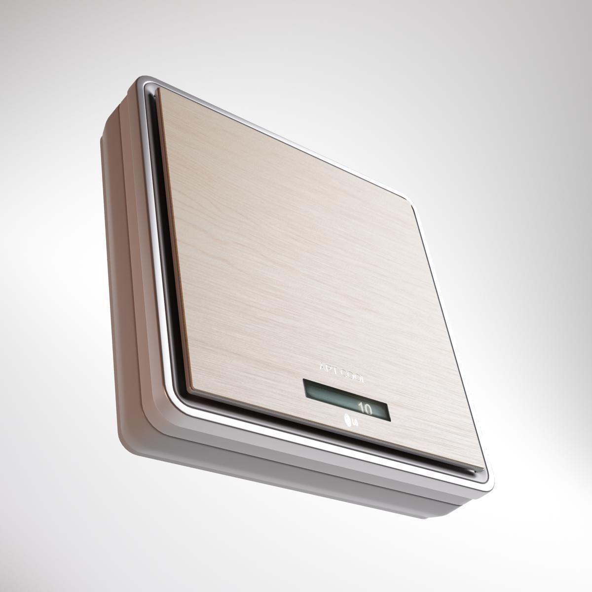 ... lg art cool air conditioners 3d model max 3ds fbx 6 ...