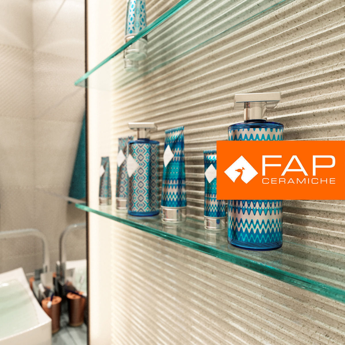 tile fap ceramiche 3d model max. Black Bedroom Furniture Sets. Home Design Ideas