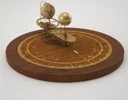 3d model pro - decorative object orrery