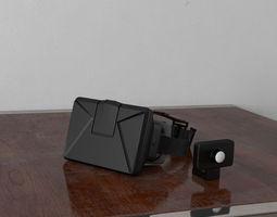 3D model VR headset 07 am156