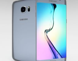 3D model Samsung Galaxy S6 Edge Plus