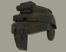 Advanced warfare helmet 3D model