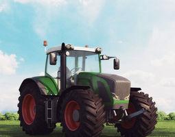 3D model tractor 01 am 146