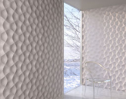 wall panel 013 am147 3d model