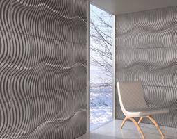 wall panel 011 AM147 3D