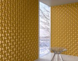 wall panel 033 AM147 3D