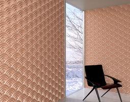wall panel 035 AM147 3D model