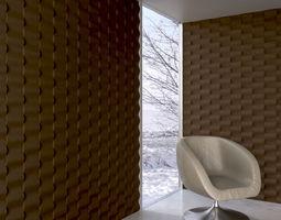 wall panel 059 AM147 3D model