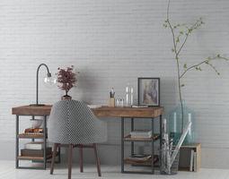 office set 24 am149 3d