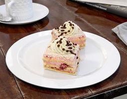3d model cake 18 am151