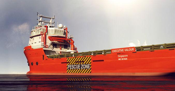 container ship  3d model max obj 3ds fbx stl mtl 1