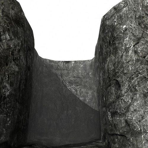 rocky walls 3d model obj mtl lwo lw lws ma mb hrc xsi blend 1