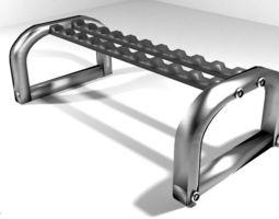 3D Exercise Storage Dumbbell Rack