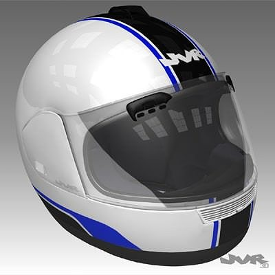 motorcycle helmet textured 3d model max obj mtl 3ds fbx tga 1