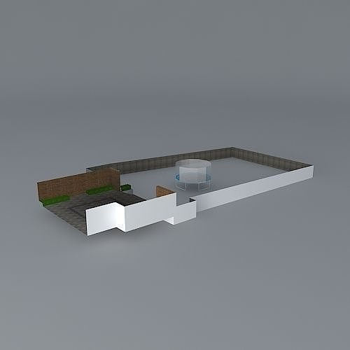 Garden Design 3d Cgtrader