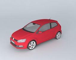 Volkswagen Polo GTI Mk5 Typ 6R 2012 3D model