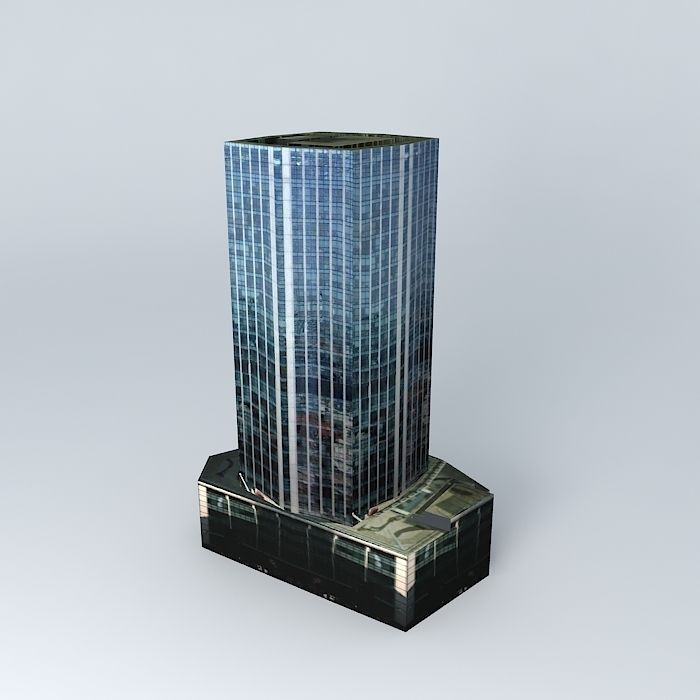 99 Bishopsgate London 3d Model Max Obj Mtl 3ds Fbx Stl Dae 2