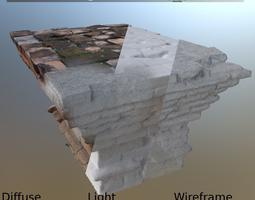 3d model altar bricks