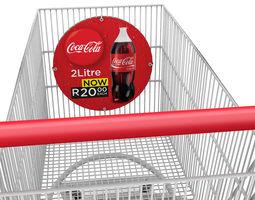 shopping trolley 3d model obj lwo lw lws mtl
