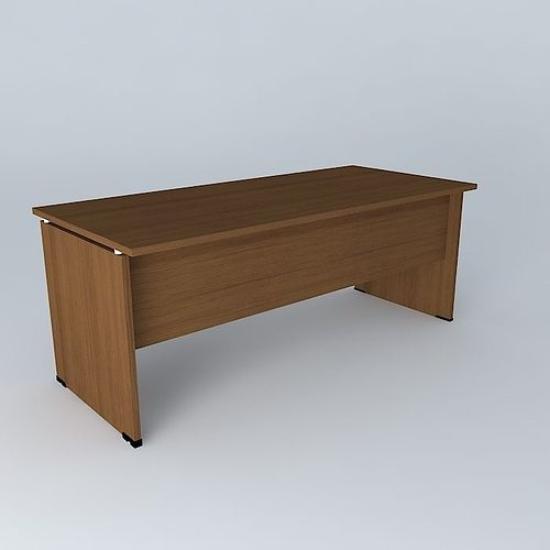 Office Desk 1800x800x720 3d Cgtrader