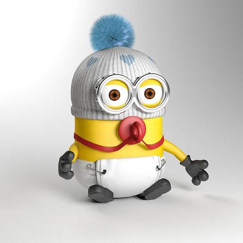 Baby minion 3D Model M...