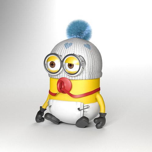 3D model Baby minion |...