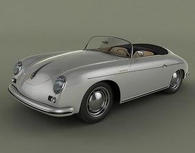 3D Porsche 356 A speedster 1957