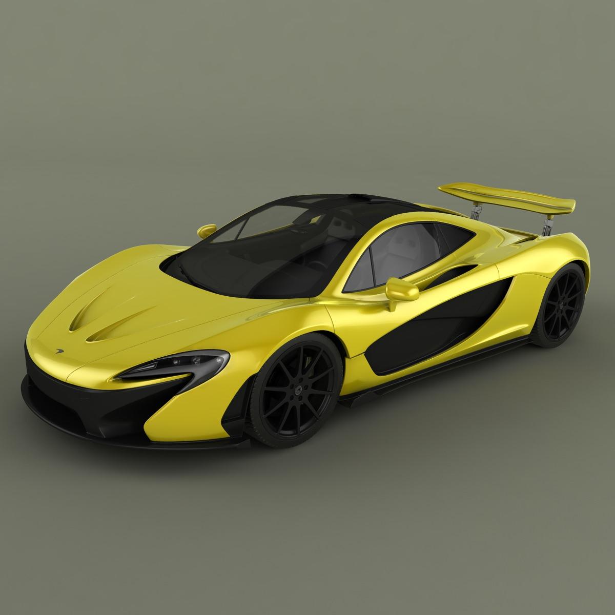 McLaren P1 3D